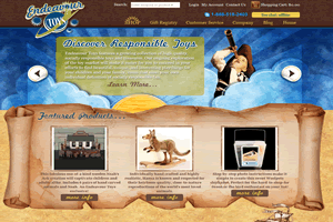 Endeavour Toys - AbleCommerce 7.0.7 Site hosted and managed by Drundo