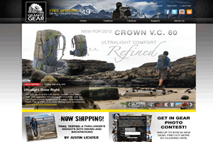 Granite Gear Store  - AbleCommerce 7.0.7 Site hosted and managed by Drundo