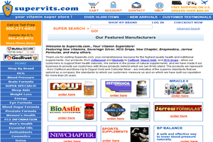 SuperVits - AbleCommerce 7.0.7 Site hosted and managed by Drundo
