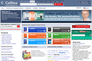 CollinsLanguage - Site hosted and managed by Drundo